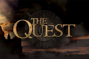 Title card for The Quest reality TV show